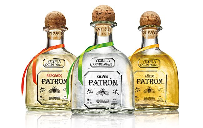 Patrón Spirits International also owns the Roca Patrón, Gran Patrón, XO Cafe, and Citrónge line extensions in its Patrón Tequila portfolio