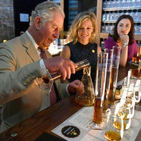 Prince Charles Rum blending