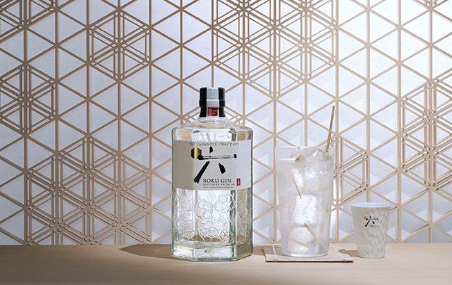 Japanese gin Roku