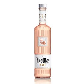 Three Olives Vodka has launched a rosé-flavoured vodka in the US
