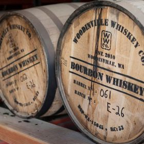 Woodinville Whiskey Co Barrel