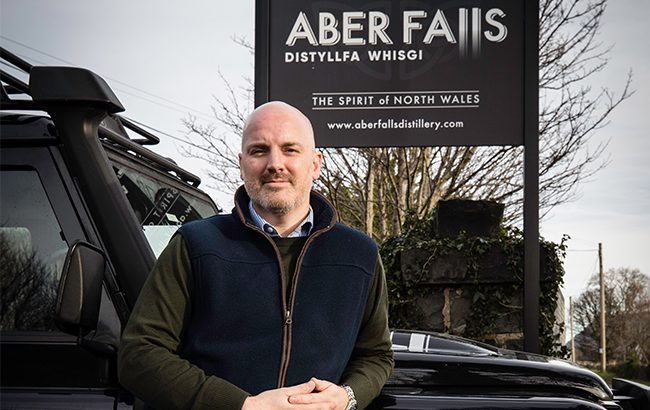 James Wright, managing director of Aber Falls