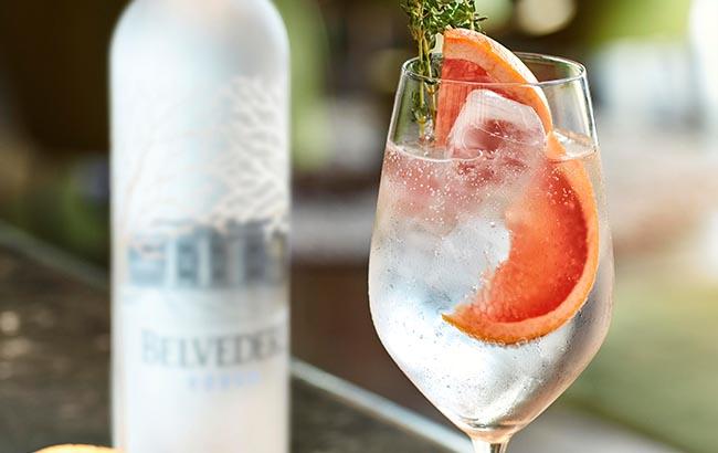 Belvedere vodka cocktail