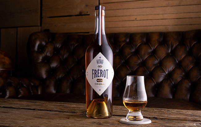 Frérot XO Cognac Assemblage de Crus is described as 'the people's Cognac'