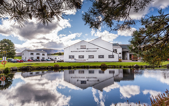 Lakeside view: GlenAllachie Distillery