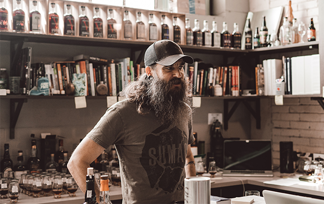 Jared Himstedt, head distiller at Balcones