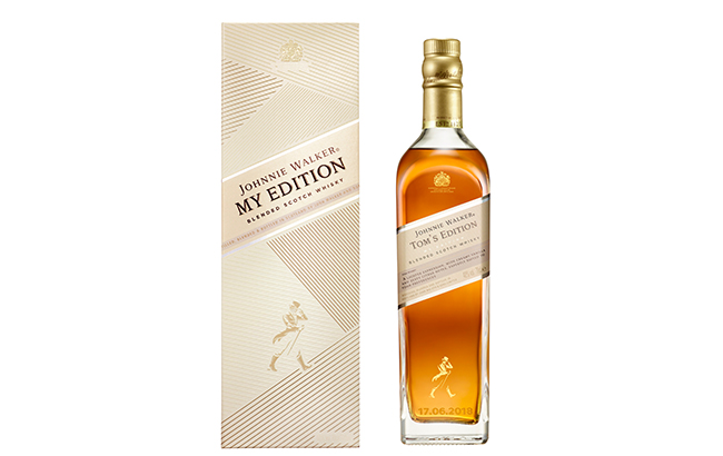 Johnnie Walker The Edition offers Scotch fans the chance to personalise the labels