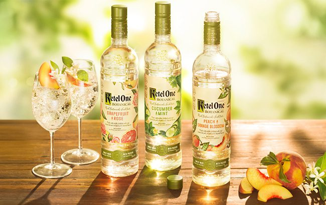 The Ketel One Botanical range consists of three low-abv variants