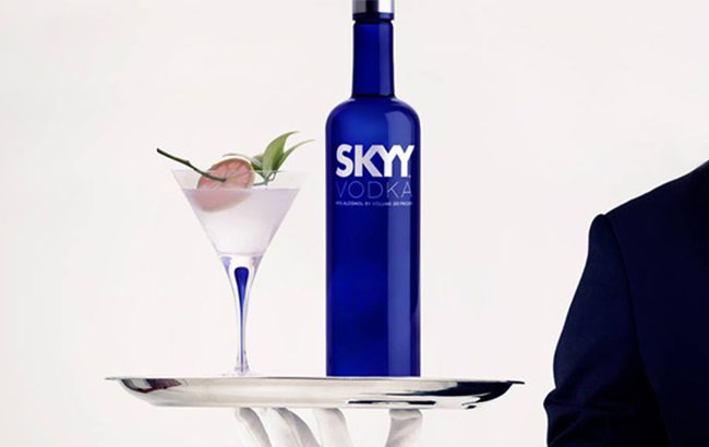 "Skyy vodka was impacted by a ""negative performance"" in the US during the first quarter"