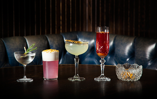 "The new cocktails at Gymkhana tell the story of four women ""who pioneered, inspired and fought for their causes in India"""