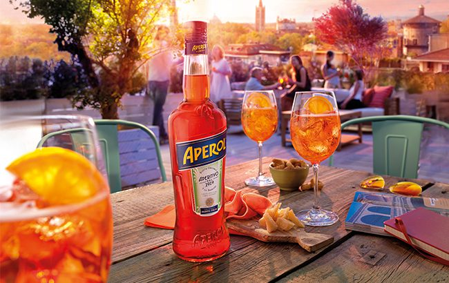 The trend for low-abv has boosted Aperol's growth