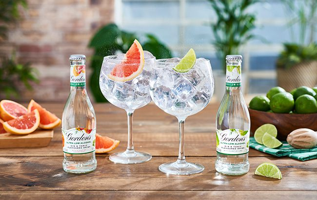 Half time: Diageo introduced two 0.5% abv Gordon's-and-tonic RTDs