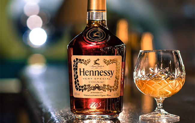 Hennessy is the world's best-selling Cognac