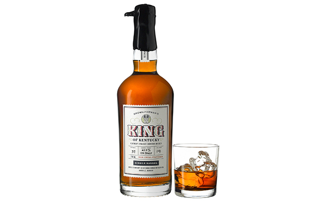 King of Kentucky is a 14-year-old Kentucky straight Bourbon