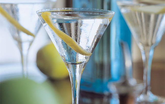 Martini at Dukes