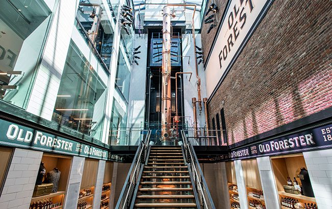 The Old Forester distillery in Louisville, Kentucky