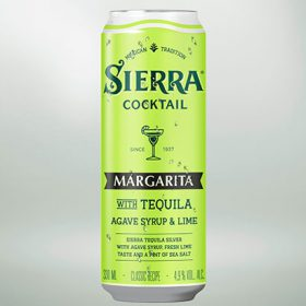 Sierra canned Margarita