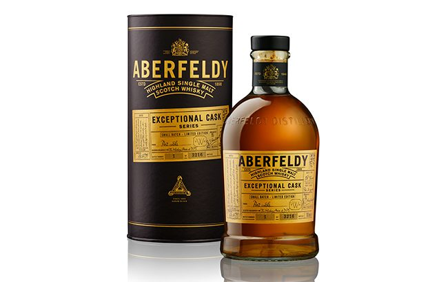 Aberfeldy 1999 has been finished in Port casks for two years