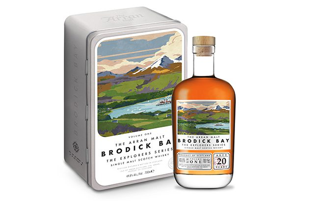 Brodick Bay is the first expression launched as part of The Explorers Series
