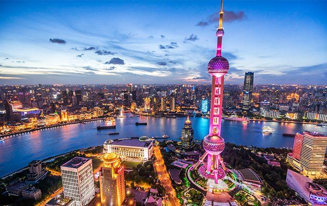 China Shanghai main