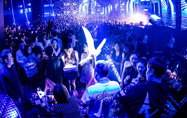 Grey Goose: white spirits are targeting China's club scene