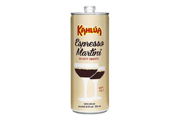 You can now enjoy a canned Espresso Martini at home