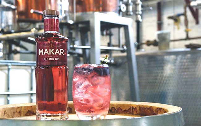 Makar Cherry Gin is the fifth expression to join the Makar range