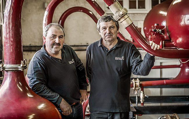 Rémy Martin's distillery is in Touzac