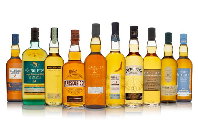 Diageo Special Release 2018