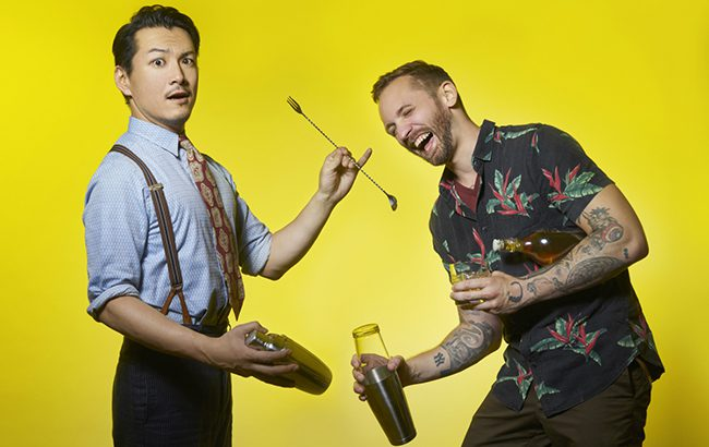 Shingo Gokan and Steve Schneider will open The Odd Couple in November (Credit: drinkmagazine.asia)