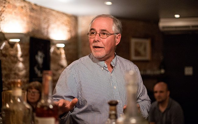 Eddie Russell, master distiller of Wild Turkey