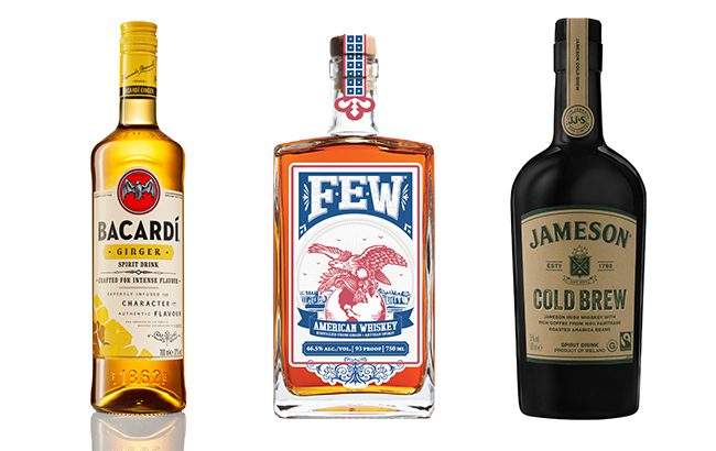We present our pick of top spirits launches from last month