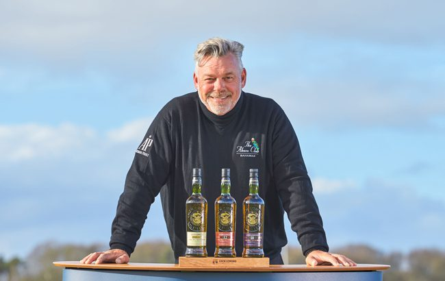 Darren Clarke Loch Lomond Whiskies