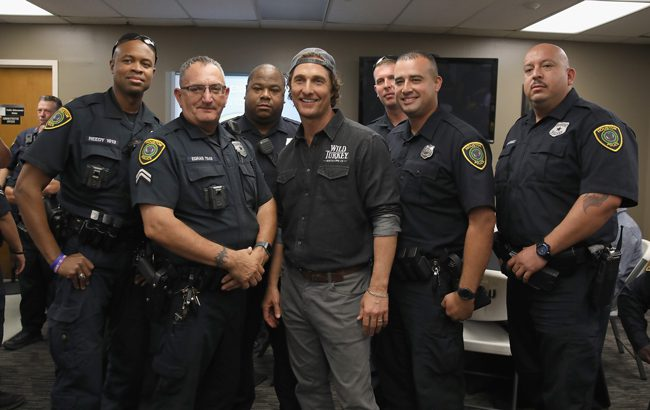 Matthew McConaughey Wild Turkey Gives Back