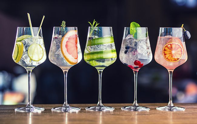 The value of Irish gin exports grew by 211% last year