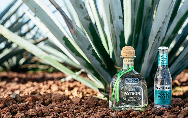 Patrón teamed up with Fever-Tree