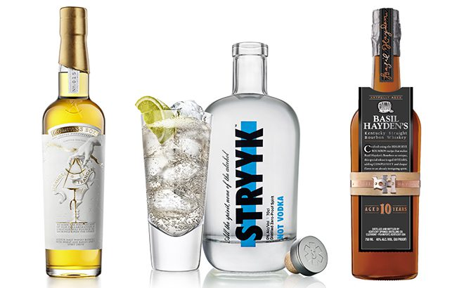 We present our pick of top spirits launches from December