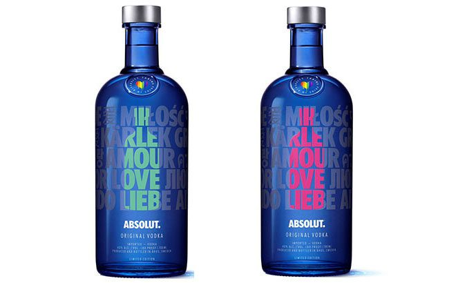 Image result for absolut pride bottle 2019