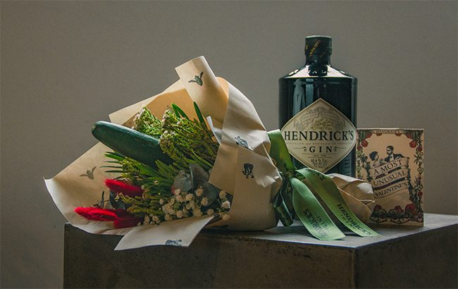 Hendrick's-Gin-Cucumber-bouquets