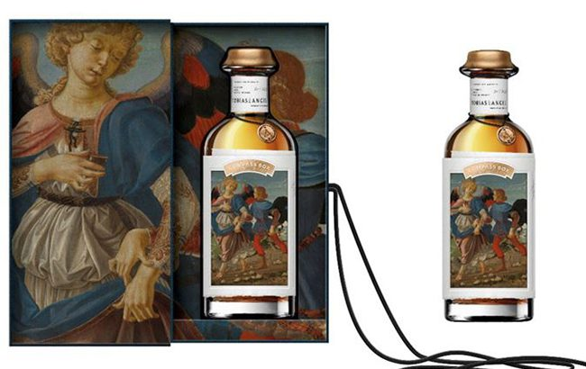 Tobias & the Angel whisky is inspired by the 15th-century painting of the same name