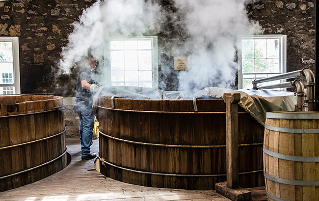 Full steam ahead: fermenting at Woodford Reserve