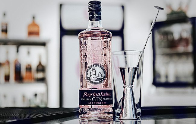 Puerto de Indias Strawberry Gin claims to have started the pink gin trend