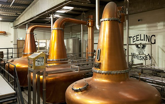 Teeling has the capacity to produce up to 1.4m litres of pure alcohol