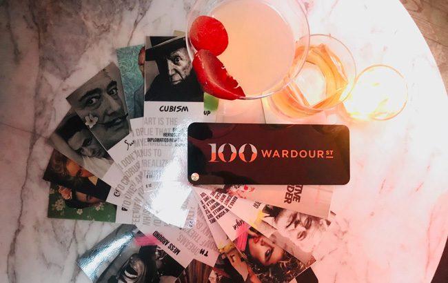 100 Wardour Street cocktails