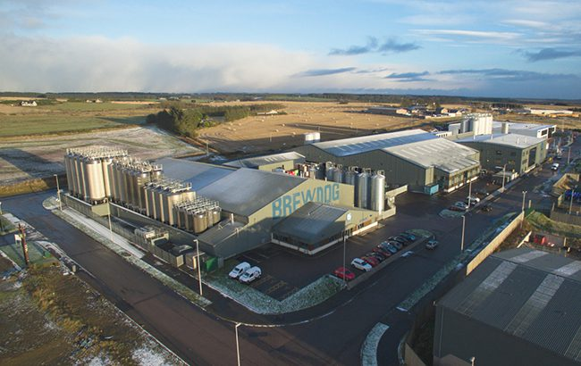 BrewDog's brewery in Ellon, Aberdeenshire