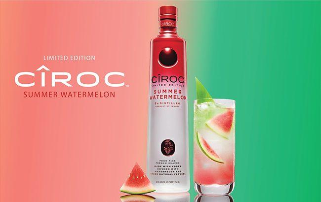 Cîroc Debuts Summer Watermelon Vodka