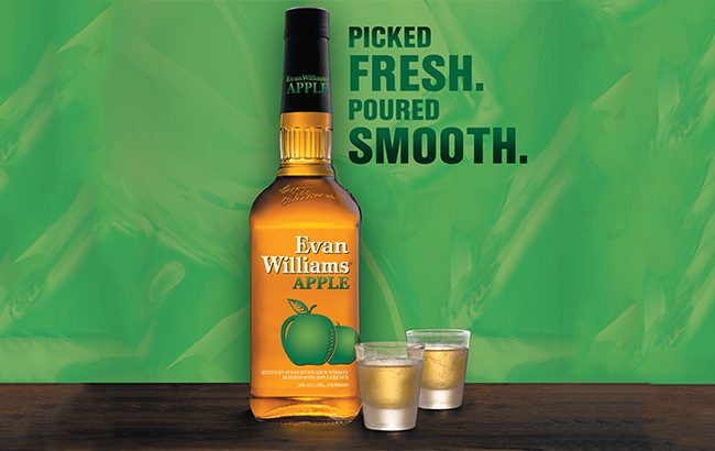 Evan-Williams-Apple-Bourbon