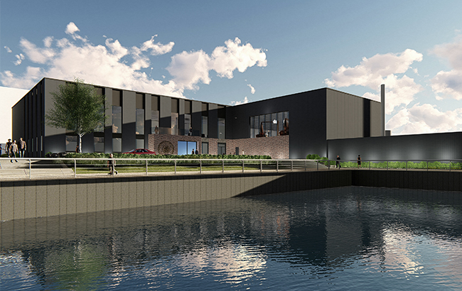 Brick by brick: how the new distillery will look