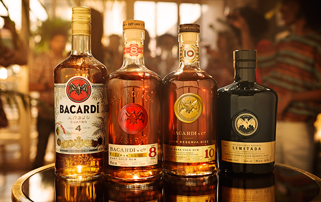 "Bacardí's core expression, Carta Blanca, witnessed ""stabilisation and growth"""
