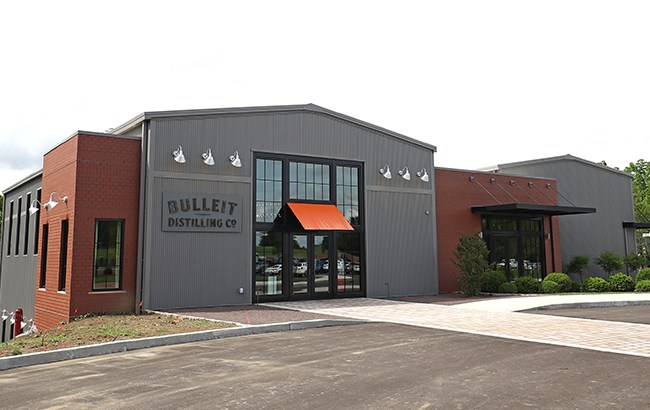 The US$10 million visitor centre at Bulleit Distilling Co will open next week
